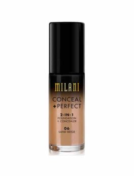 Milani Conceal+Perfect 2 In 1 Foundation - 06 Sand Beige in Carnesia