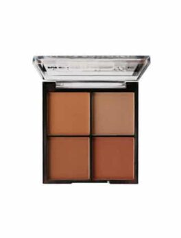 Our most loved MegaBronzehas had a makeover! Four warmmatte bronzeshades, adding a nice pink glow to your cheeks. Suitable for Vegetarians Suitable for Vegans in Carnesia