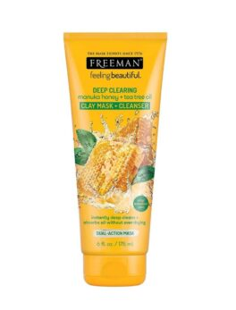 Freeman Deep Clearing Clay Facial Mask and Cleanser with Manuka Honey and Tea Tree Oil Mask in Bangladesh